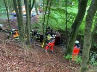 Schwerer Verkehrsunfall zwischen Schweinsbühl und Neerdar (Fotos, Video)