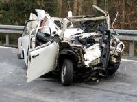 Tödlicher Verkehrsunfall zwischen Rosenthal und Bracht (Fotostrecke)