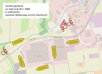 Wetterburg und Volkmarsen: Neuer Bauabschnitt auf Landesstraße 3080