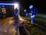 Am 13. März mussten die Freiwilligen Feuerwehren Bad Wildungen und Braunau zu einer Löschaktion ausrücken.