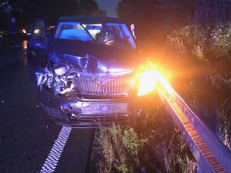 Am 6. Oktober ereignete sich ein Unfall mit drei beteiligten Fahrzeugen auf der Bundesstraße 252.