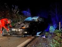 Ein Gesamtschaden von 7100 Euro verursachte am 18. November ein Fahranfänger aus Frankenberg auf der L3087.