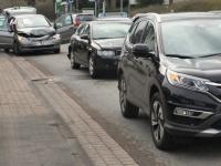 In Höxter kam es zu einem Unfall mit drei beteiligten Fahrzeugen.