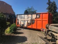 Am 27. Juni brannte Mobiliar und Hausrat in einem abgestellten Container in Lelbach.