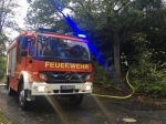Die Freiwillige Feuerwehr Frankenberg musste am 6. Oktober ausrücken, in einem leerstehenden Haus brannte eine Matratze.