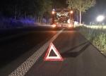 Unfall mit tödlichem Ausgang auf der B252 zwischen Frankenberg und Herzhausen.
