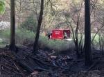 Am Ostermontag rückten die Edertaler Wehren zur Brandbekämpfung   aus.