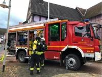 Am 20. Februar rückte die Feuerwehr zu Löscharbeiten nach Viermünden aus.