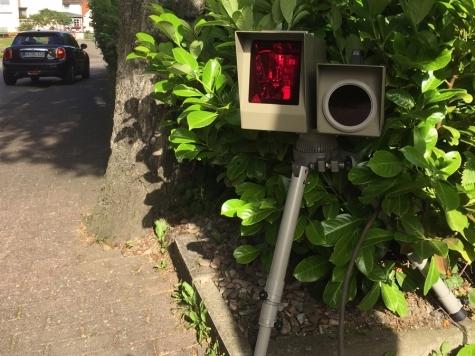 Blitzer auf der Landesstraße 3081