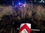 Mit seinem Wohnmobil hat am 18. Oktober ein 55-jähriger Mann aus Kleve die Verkehrsinsel zwischen Volkmarsen und Wetterburg demoliert.