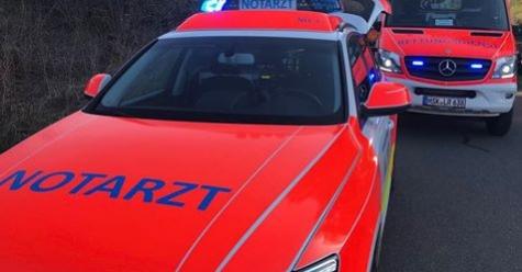 Am 9. April wurde eine Frau zwischen Canstein und Massenhausen bei einem Unfall schwer verletzt.