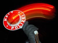 Am 7. November musste die Polizei eine Alkoholfahrt in Frankenberg beenden.