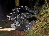 Zwischen Erndtebrück und Rüppershausen verunfallten zwei Männer schwer.
