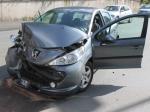 Ein Verkehrsunfall in Frankenberg erforderte den Rettungsdienst, die Feuerwehr und die Polizei.
