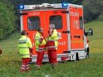 Mit einem Rettungswagen musste am 27. Mai ein Radfahrer ins Arolser Krankenhaus gebracht werden.