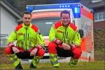 Daniel Impelmann und Philipp Cyriax (von links) haben mir einen Einblick in ihre anspruchsvolle Ausbildung gewährt.
