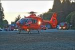 Hubschrauber, Feuerwehr und Rettungsdienst waren am Abend in Winterberg im Einsatz.