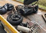 Bei Holzhausen ereignete sich am Freitag ein tödlicher Verkehrsunfall.