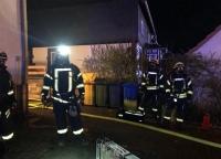 In Schreufa wurde am Freitagabend ein Wohnungsbrand gemeldet.