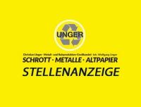 Die Firma Christian Unger sucht einen neuen Mitarbeiter (m/w/d).