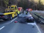 Am Samstag (11. April 2020) ereignete sich ein Unfall auf der L 870 zwischen Brilon und Hoppecke.