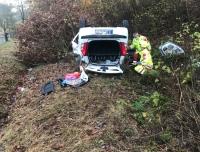 Am 8. November ereignete sich ein Alleinunfall auf der Bundesstraße 251 bei Ippinghausen.