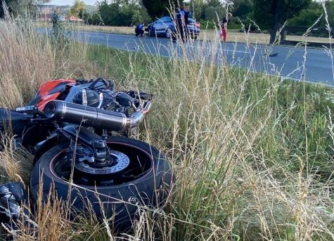 Zwischen Bergheim und Wellen ereignete sich am Donnerstagnachmittag ein Unfall.