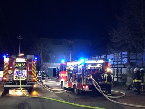 Die Feuerwehr Brilon war an Karfreitag im Einsatz und verhinderte Schlimmeres.