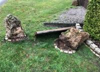 In Neerdar wurde am Donnerstag eine Bank zerstört.