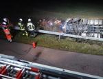 Am 5. Februar ereignete sich ein Unfall auf der A 44 bei Zierenberg.