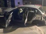 Eine Trunkenheitsfahrt endete am 27. September 2020 in Reitzenhagen - Auto Totalschaden, Geländer demoliert.