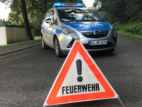 Bad Arolsen: Ein Verkehrsunfall am 13. August rief Polizei und Feuerwehr auf den Plan.