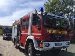 In Schreufa wurde am Freitag eine Erdgasleitung durchtrennt.