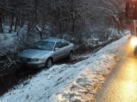 Ein Unfall ohne Fremdeinwirkung ereignete sich am 12. Dezember zwischen Frankenberg und Somplar.
