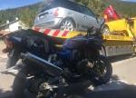 Am 31. Juli kam es im Edertal zu einem Unfall zwischen einer Kawasaki und einerm MINI.