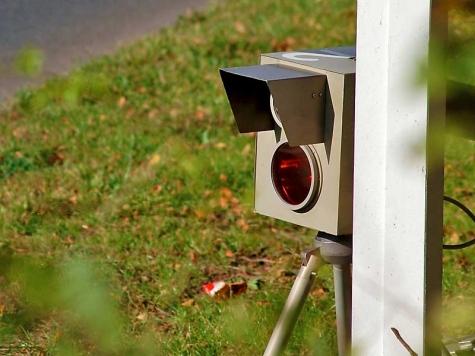 In Lengefeld wird eine Geschwindigkeitskontrolle durchgeführt.