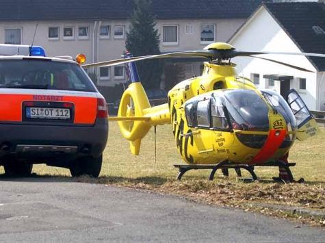 Am 1. Dezember 2019 wurde eine Seniorin in Winterberg angefahren und schwerverletzt mit dem Rettungshubschrauber in eine Klinik geflogen.