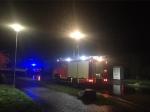 In Rennertehausen rückte die Feuerwehr zu einem Kaminbrand aus.