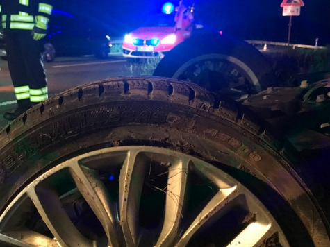 Am 3. April ereignete sich ein Unfall auf der Landesstraße 3075 zwischen Wolfhagen und Volkmarsen