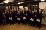 Feuerwehr Diemelsee: am 4. Januar wurden etliche Mitglieder geehrt