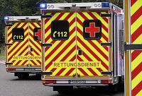 Notarzt, RTW-Besatzungen und Polizeikräfte eilten am 19. Februar zur Einsatzstelle.
