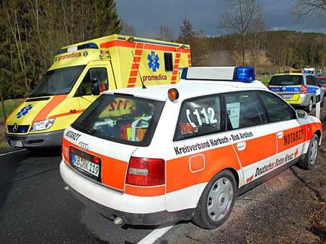 Ein Motorradunfall ereignete sich am 7. August auf der L 3083 zwischen Freienhagen und Dehringhausen.