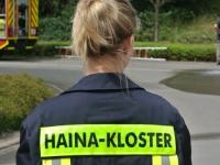 Die Feuerwehren aus Haina, Löhlbach und Halgehausen waren am 26. September im Einsatz.