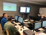 Die Stadtbrandinspektoren Carsten Vahland, Sascha Franken und Arno Zenke lobten das Engagement der eingesetzten Kräfte