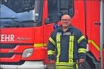 Michael Seebold rettet Leben am Telefon und ist in seiner Freizeit aktiver Feuerwehrmann..