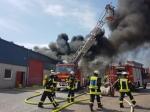 Kameraden der Freiwilligen Feuerwehr Brilon waren am 26. Juli im Einsatz.