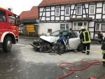 In Rosenthal kam es am 16. Januar zu einem schweren Verkehrsunfall.