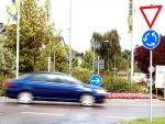 Am 9. Juni kam es in Frankenberg im Kreisverkehr an der Hainstraße zu einem Unfall.