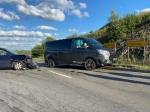 Am 29. Juni ereignete sich ein Verkehrsunfall auf der Landesstraße 3076 am Abzweig nach Helmscheid.