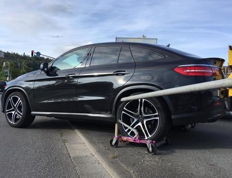 Frankenberg: Am 16. Juli ereignete sich ein Unfall im Bereich der Uferstraße.